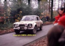 Ford Escort RS1600 Mk1 Tony Drummond 1975 RAC Rally. photo